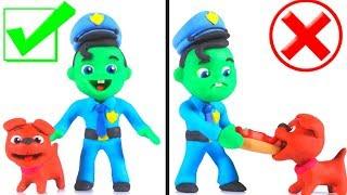 LUSTIGE KINDER HUND VERLOREN & GEFUNDEN ❤ Play-Doh, Cartoons Für Kinder