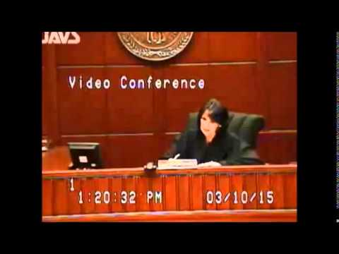 "Fayette  County District Court, Lexington, Kentucky: ""Video Arraignment,"" A Sample"