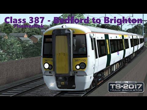 Train Simulator 2017 - A Full Thameslink - Class 387 Bedford to Brighton