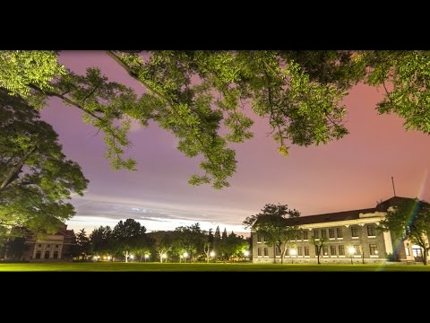 Time Machine: A Tsinghua Timelapse