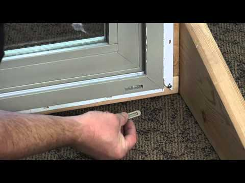 How To Replace A Weep Hole Cover On A Vinyl Window