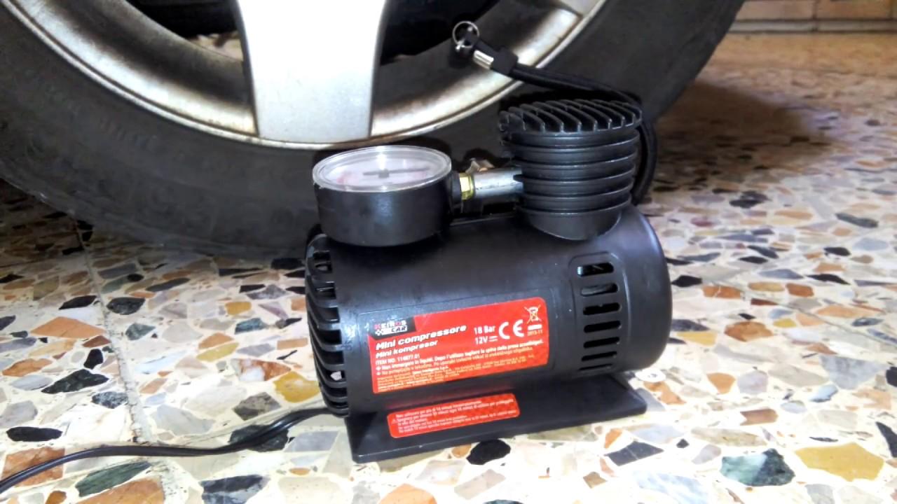 10 bar//140 psi Inclusi 4 adattatori Mini compressore in alluminio da 140 psi