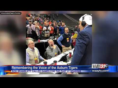 ROD BRAMBLETT, THE VOICE OF THE AUBURN TIGERS, AND HIS WIFE, PAULA, CONFIRMED DEAD FOLLOWING CAR CRA