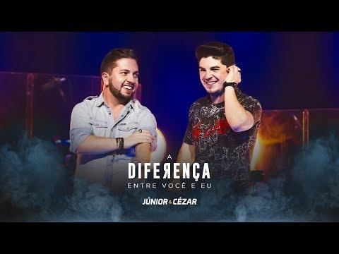 Júnior e Cézar - A DIFERENÇA ENTRE VOCÊ EU - DVD Duas Vidas E Um Sonho - #juniorecezar