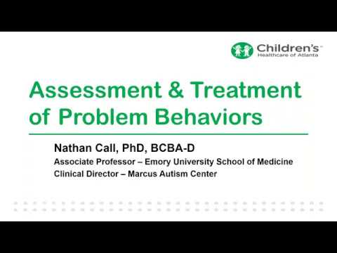 TS Alliance Webinar with Dr. Nathan Call -- Effective Behavioral Treatments for TAND Issues in TSC