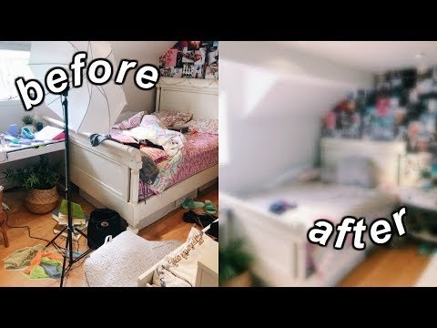 deep cleaning my room 2019! (decluttering + organizing)