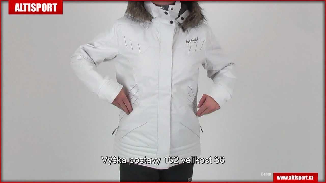 751d9ca2c4 Dámské zimní bundy LOAP SUETTE CCL1202 BÍLÁ - YouTube