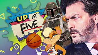 Up At Noon (At Five) LIVE!: Solid Snake's Voice Actor Gets Evil in VR, Star Wars Toys & Space Jam 2