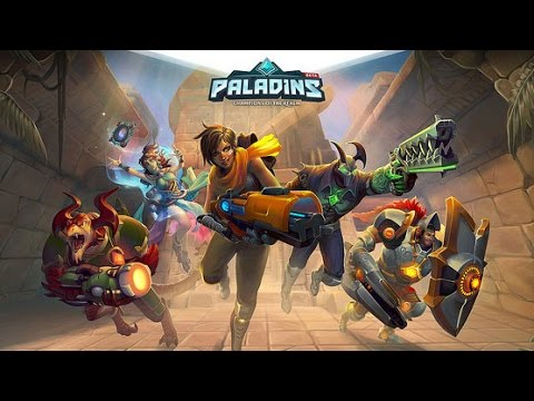 Paladins ALL CHARACTER ABILITIES !! - YouTube