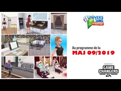 The Sims Freeplay-Programme de la maj sept 2019-Accès Anticipé