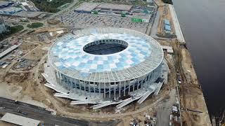 Стройка стадиона Нижний Новгород - Сентябрь - 12