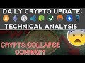 CRYPTOCURRENCY COLLAPSE COMING!? (11/29/17) Daily Update + Technical Analysis