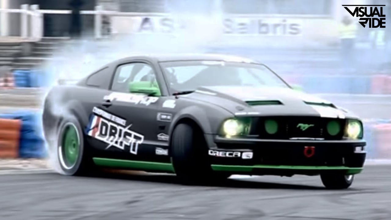 Ford Mustang Gt Drift 600hp Youtube