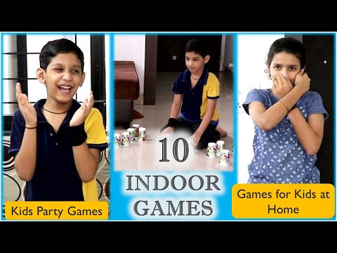 10 Indoor games for kids | One minute games | Birthday party games for kids | Birthday party games