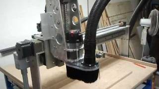 Cnc Router With Dust Shoe First Cuts