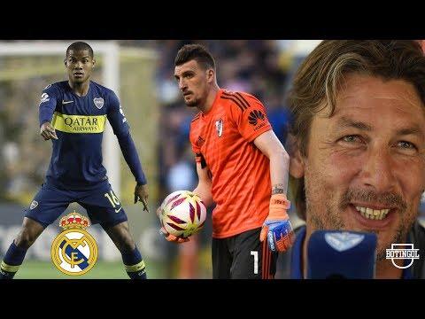 ¿WILMAR BARRIOS a REAL MADRID? + ARMANI y 10 mas ante ALDOSIVI + HEINZE respondió a HOLAN