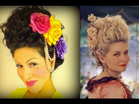 Marie Antoinette Hair Tutorial Ilovegerardo Youtube