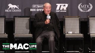 """Bob Arum reacts to Tyson Fury's win: """"He may be one of the all time greatest heavyweights"""""""