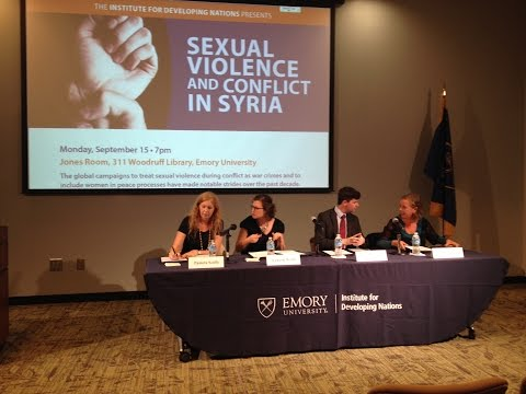 Sexual Violence and Conflict in Syria