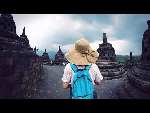 12 Days Breathtaking Trip in Indonesia with Gopro & DJI Drone Java Bali Volcano Ocean Buddha