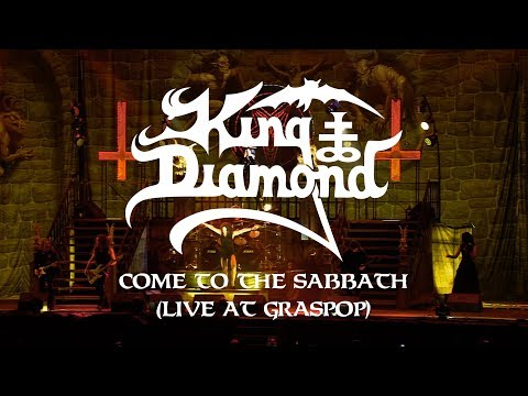 "King Diamond ""Come to the Sabbath (Live at Graspop)"" (CLIP)"