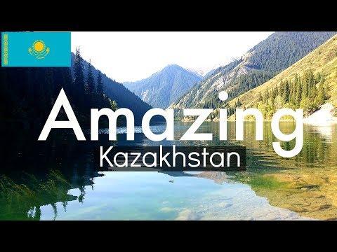 TRAVELING KAZAKHSTAN! Lake Kaindy, Kolsai Lake and Charyn Canyon