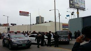 Balacera en San Miguel volvió a poner en peligro la vida de dos policías