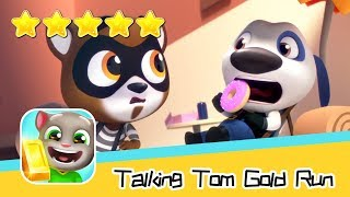 Talking Tom Gold Run Day50 Walkthrough The best cat runner game! Recommend index five stars