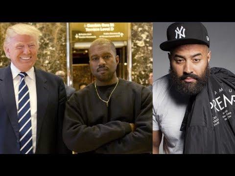 Kanye West Reportedly Struggling W/ Addiction As He Tells Trump, Ebro Awkwardly