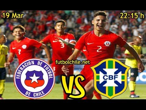 Chile (0) vs Brasil (5) – Final – Sudamericano Sub 17 – Partido Completo