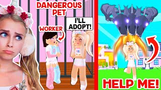 We ADOPTED The MOST DANGEROUS PET In Adopt Me! (Roblox)