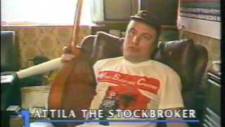Attila the Stockbroker, BBC News at One, March 1989