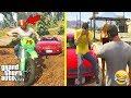 GTA 5 - What Happens if TREVOR WINS The Race Against Michael