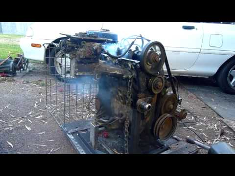 Power Drill Starting old VW 4 Cylinder Engine