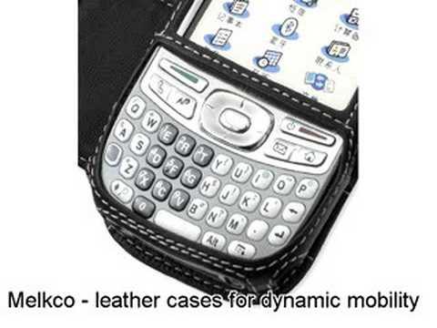 Melkco Tasche Leder Etui cuir ~Palm Treo 680/750v Book