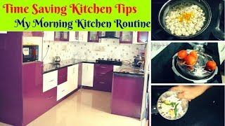 Time Saving  kitchen tips for tension free mornings - My Morning Kitchen routine