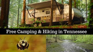Tennessee Free Camping & Hike - Frugal RVing while Travel Trailer Living