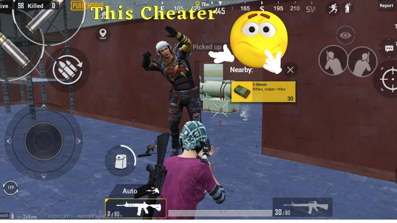 This man Cheting, me Me very heart,pubg mobile gaming,