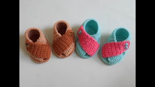 Crochet Newborn Baby Pattern Stylish Shoes
