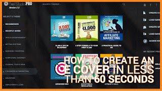 So Erstellen Sie Ein E-Cover In Weniger Als 60 Sekunden