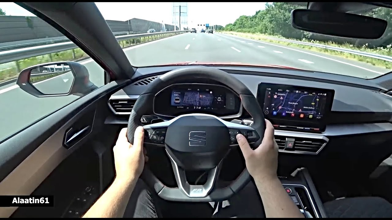 The New Seat Leon FR 2021 Test Drive - YouTube