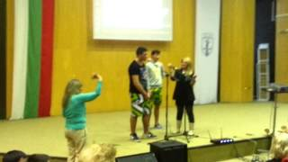 Portuguese dance in Ruse- Bulgaria - Give me hope Joanna