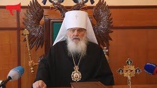 Митрополит Вениамин поздравил верующих с праздником Пасхи