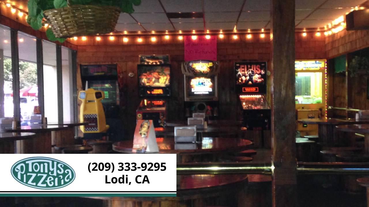 Tony S Pizzeria Restaurants In Lodi