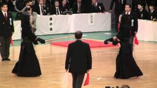 KENDO 高鍋進 × 西村龍太郎 (3回戦) 全日本剣道2011-1103