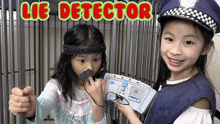 Pretend Play Police Lie Detector Gone Crazy