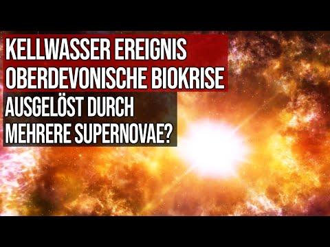 Kellwasser Ereignis - Oberdevonische Biokrise - Ausgelöst durch mehrere Supernovae?