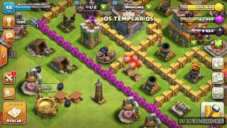 TESTEI O FEITIÇO NOVO DO CLASH OF CLANS