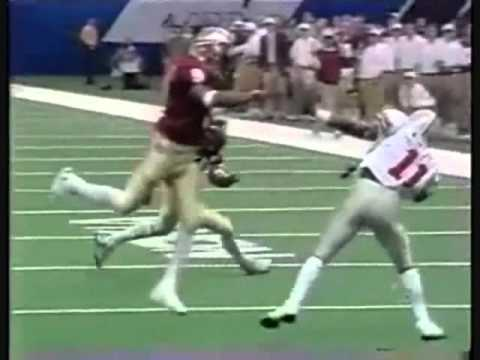 1 1 1998 EG Green 27 Yd TD Rec from Thad Busby vs Ohio State