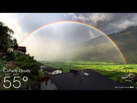 Yahoo! Weather: The Forecast Is Beautiful